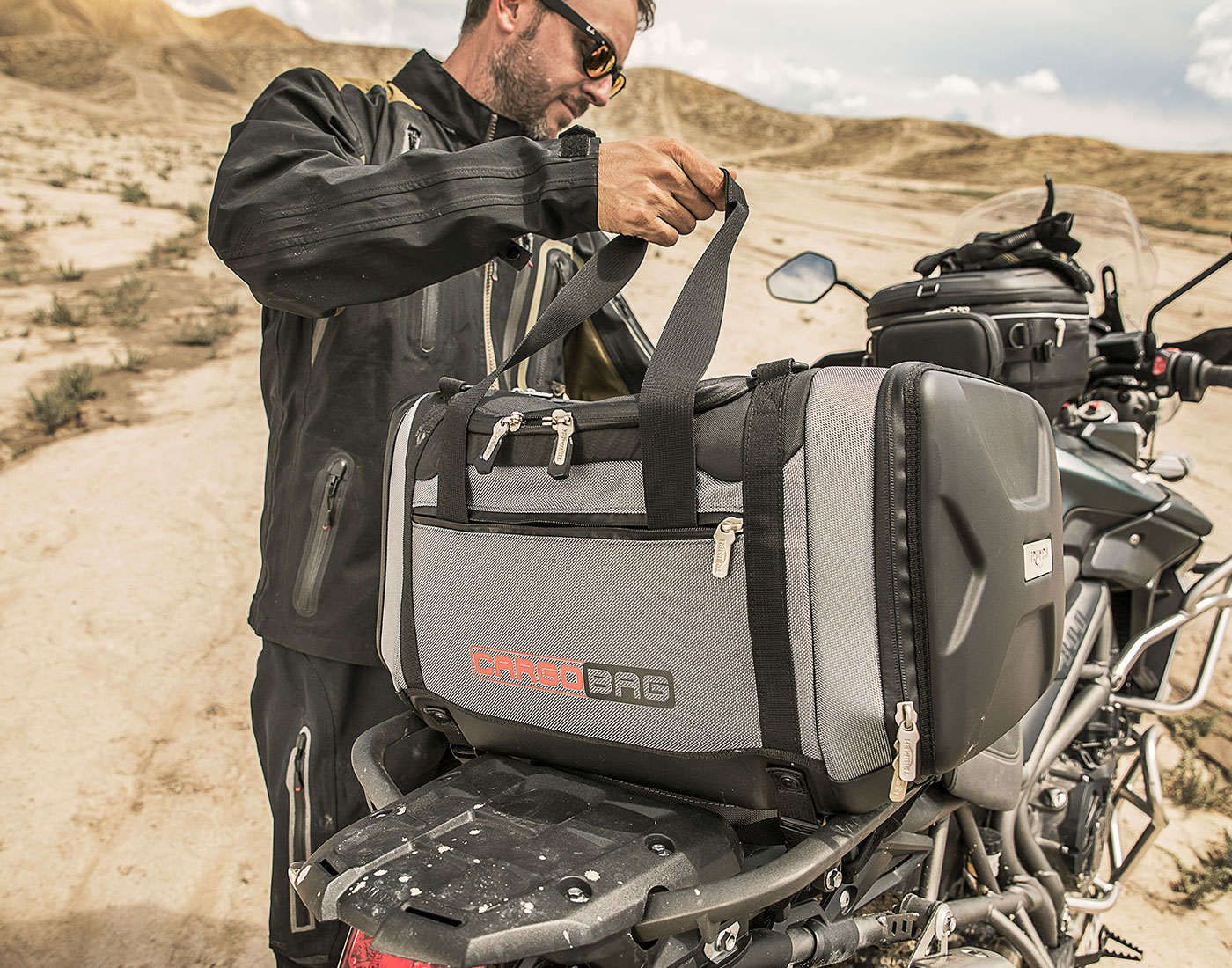 Triumph accessory and luggage systems